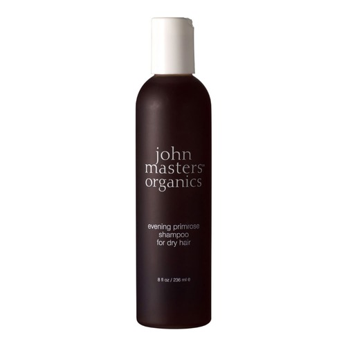 Closeup   evening primrose shampoo for dry hair