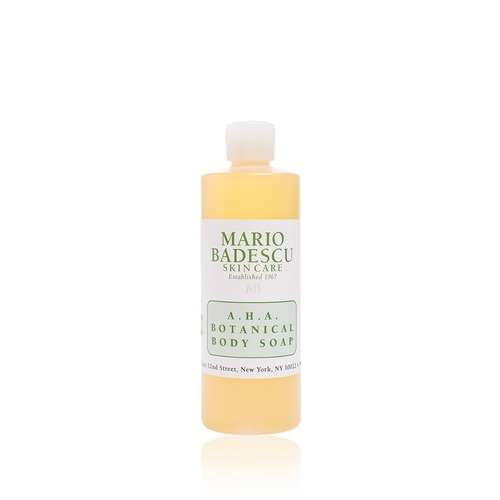 Closeup   mario 20badescu 20  20aha 20botanical 20body 20soap