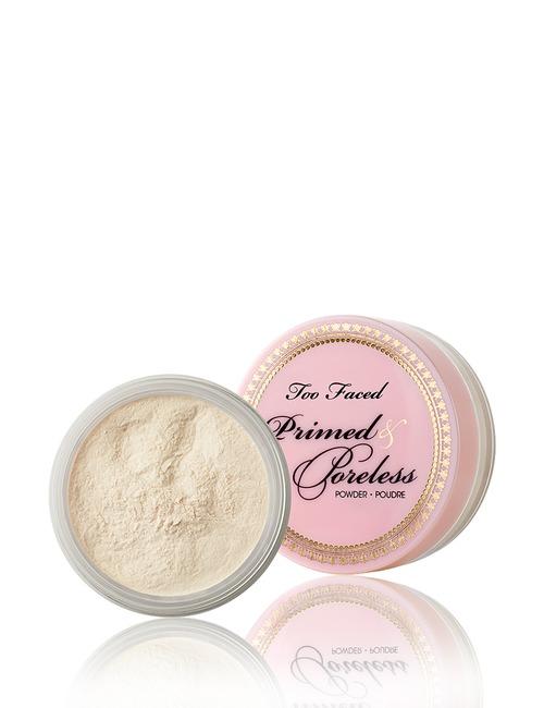 Closeup   too faced primed   poreless powder